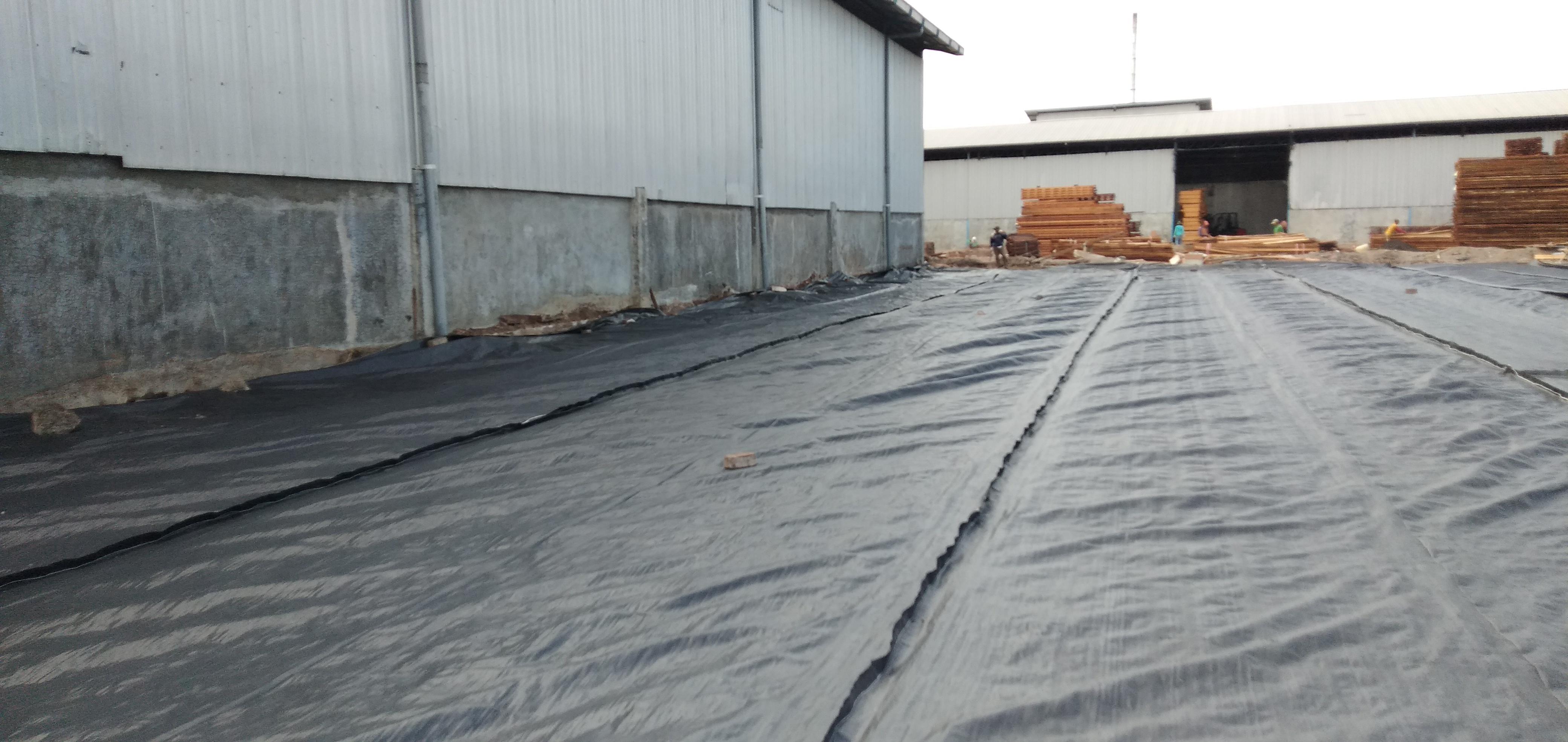 Geotextile Nonwoven Work - Warehouse Reinforcement